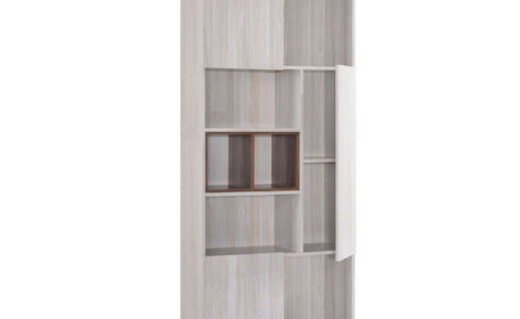 Jarvy Book Case (8 Compartments) 6145-Ww+Oak*T1
