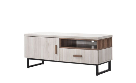Jarvy TV Cabinet (4 Ft) 9198-Ww+Oak*T1