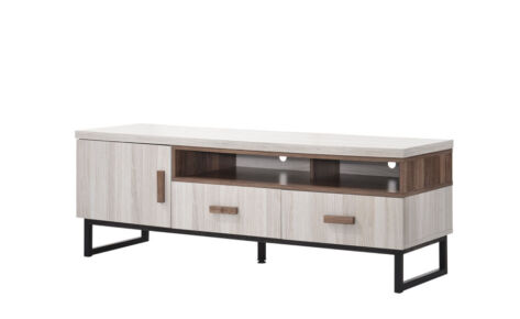 Jarvy TV Cabinet (5 Ft) 9199-Ww+Oak*T1