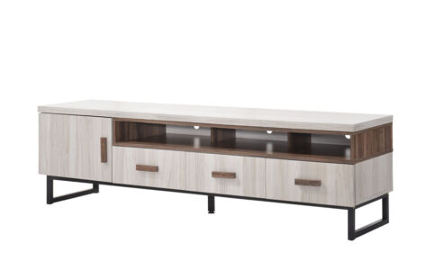 Jarvy TV Cabinet (6 Ft) 9200-Ww+Oak*T1