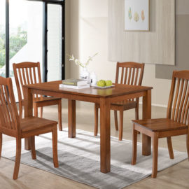 E-DS SET 4 CHAIRS + 1 TABLE
