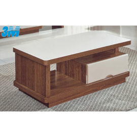 COFFEE TABLE WITH GLASS TOP 3M-CT-1036