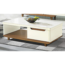 COFFEE TABLE WITH GLASS TOP 3M-CT-1040