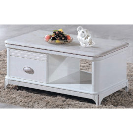 COFFEE TABLE WITH MARBLE TOP 3M-CT-1042