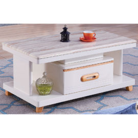 COFFEE TABLE WITH MARBLE TOP 3M-CT-1057