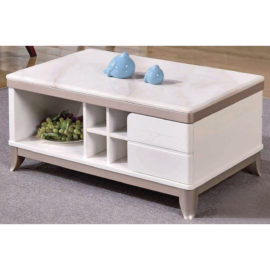 COFFEE TABLE WITH MARBLE TOP 3M-CT-1059