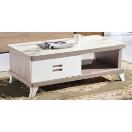 COFFEE TABLE WITH GLASS TOP 3M-CT-1066