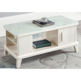 COFFEE TABLE WITH GLASS TOP 3M-CT-1079