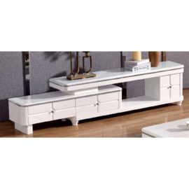 EXTENDABLE MARBLE TOP TV CONSOLE 3M-TV-1155