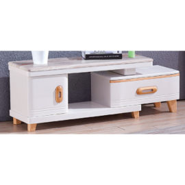 EXTENDABLE MARBLE TOP TV CONSOLE 3M-TV-1157