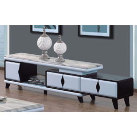 EXTENDABLE MARBLE TOP TV CONSOLE 3M-TV-1165