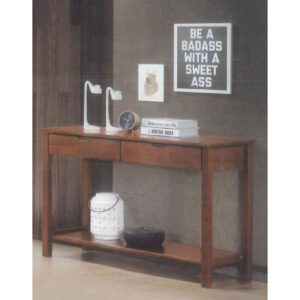 SOLID WOOD STUDY TABLE (2 DRAWER) 3M-WT-1162