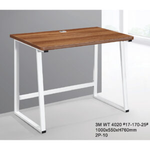 STUDY TABLE WITH METAL LEG 3M-WT-4020