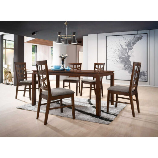 Scandinavian SET: 1 TABLE+4 CHAIRS