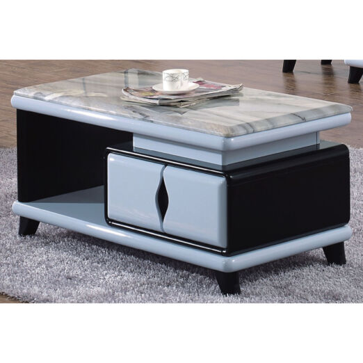 COFFEE TABLE WITH MARBLE TOP 3M-CT-1064