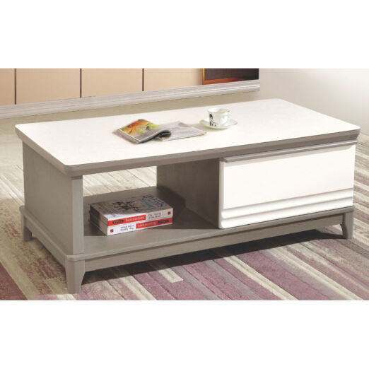 COFFEE TABLE WITH GLASS TOP 3M-CT-1072