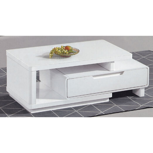 COFFEE TABLE WITH GLASS TOP 3M-CT-1081