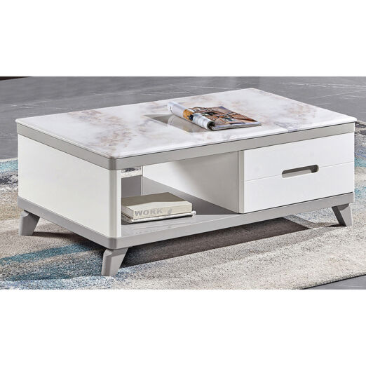 COFFEE TABLE WITH MARBLE TOP 3M-CT-1098