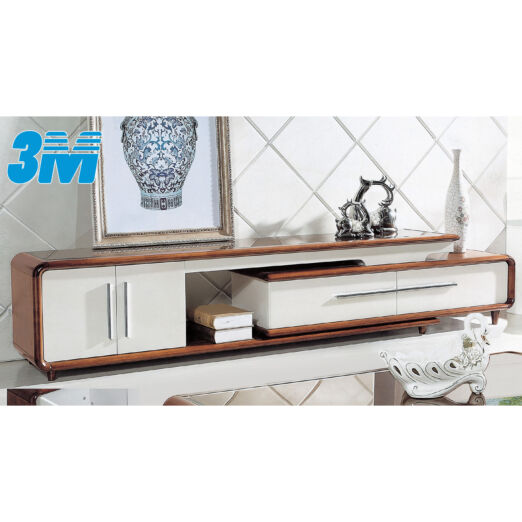 EXTENDABLE GLASS TOP TV CONSOLE 3M-TV-1104
