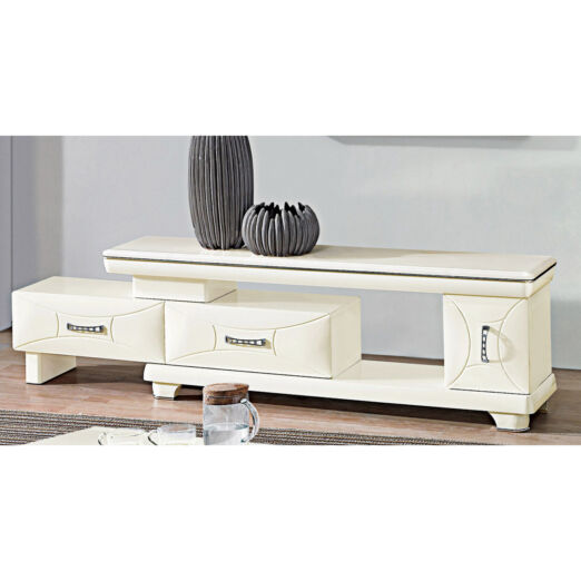 EXTENDABLE MARBLE TOP TV CONSOLE 3M-TV-1139