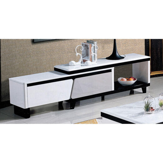 EXTENDABLE MARBLE TOP TV CONSOLE 3M-TV-1200