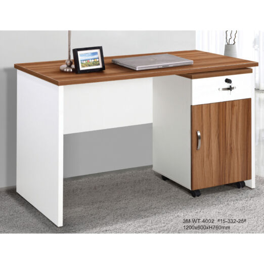 WOODEN STUDY TABLE WITH REMOVABLE STORAGE 3M-WT-4002