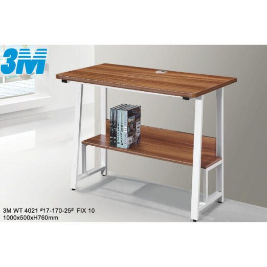 STUDY TABLE WITH METAL LEG 3M-WT-4021