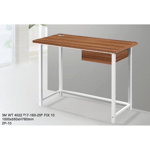 STUDY TABLE WITH METAL LEG 3M-WT-4022