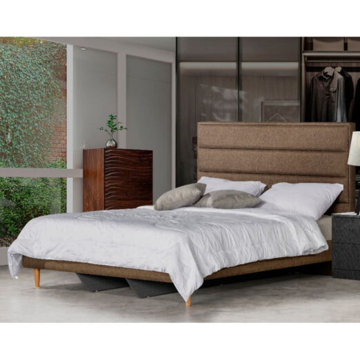 Rica Panel Bed frame