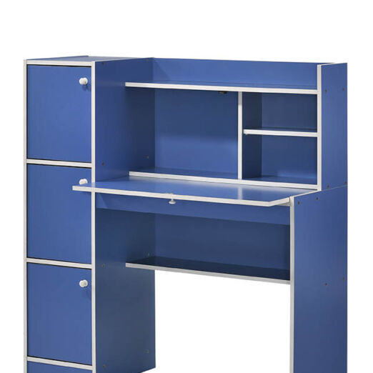 T1 STUDY DESK 3 DOOR-BLUE