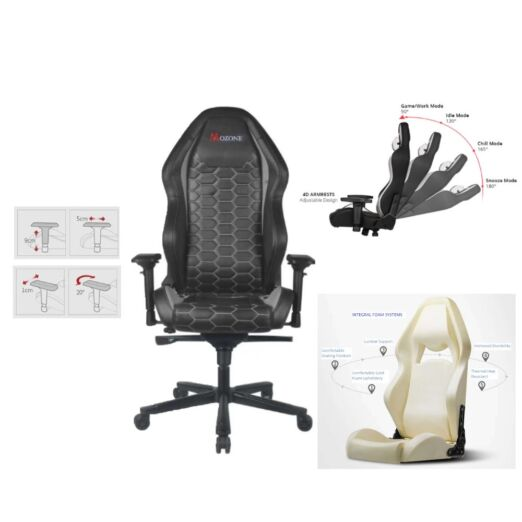 Mozone Serpent Ergonomic Gaming Chair