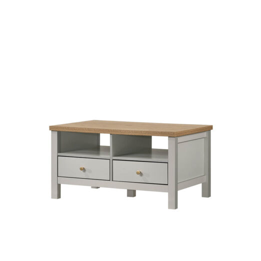 AKARA COFFE TABLE (2 DRAWER)