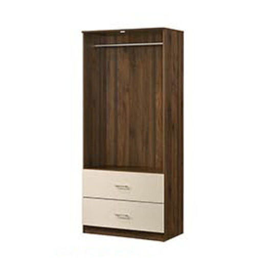 JACOB WARDROBE (2 DOORS 2 DRAWERS)