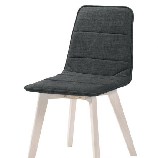 Scandinavian Dining Chair 1511-WW Black*T1