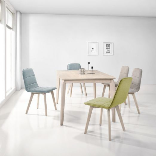 Scandinavian SET: 1 TABLE+4 CHAIRS 3008+1511-*T1