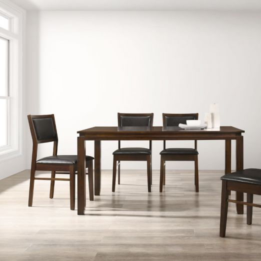 Scandinavian Set: 1 Table+6 Chairs 16359+1703*T1