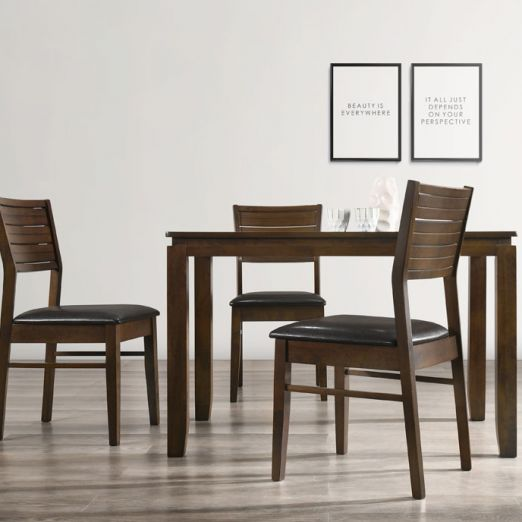 Scandinavian Set: 1 Table+4 Chairs 16249+1704*T1