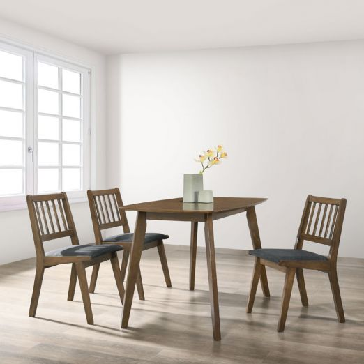 Scandinavian SET: 1 TABLE+4 CHAIRS 3013+1907*T1