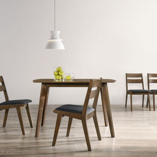 Scandinavian SET: 1 TABLE+4 CHAIRS 3013+1909*T1