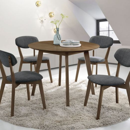 Scandinavian SET: 1 TABLE+6 CHAIRS 3013+34*T1