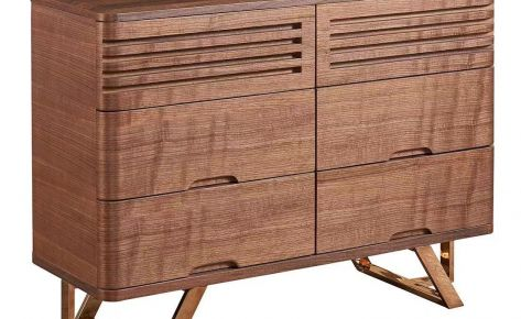 Noceli Multipurpose Paneled Buffet Cabinet