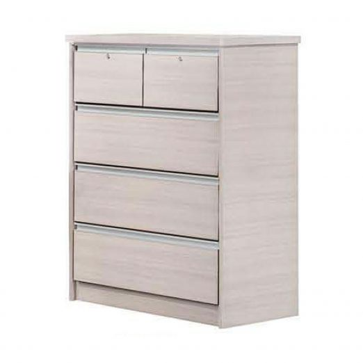 Chest of Drawer 5 Drawers with 2 Lock